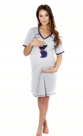 Koszule ciążowe do karmienia L40