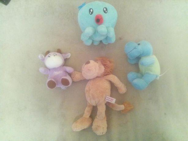 мягкая игрушка ,мяка іграшка лев ,коровка ,дракон ,осьминожка 15-25см