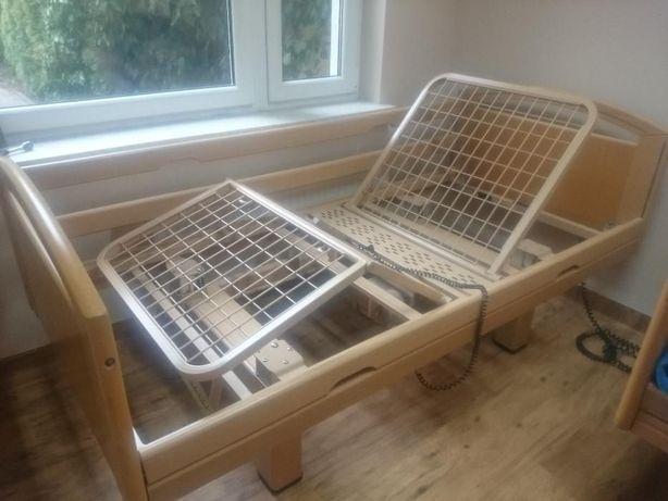 Łóżko rehabilitacyjne domowy wygląd - elektryczne łóżko