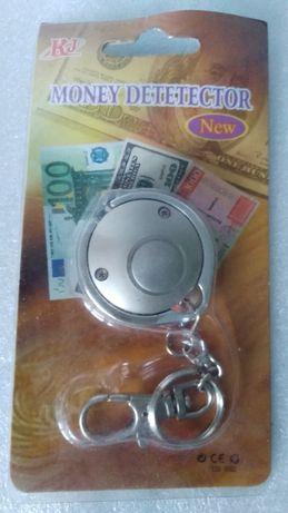 Ультрафиолетовый брелок детектор валют
