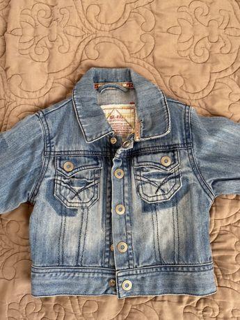 Джинсова курточка на малюка