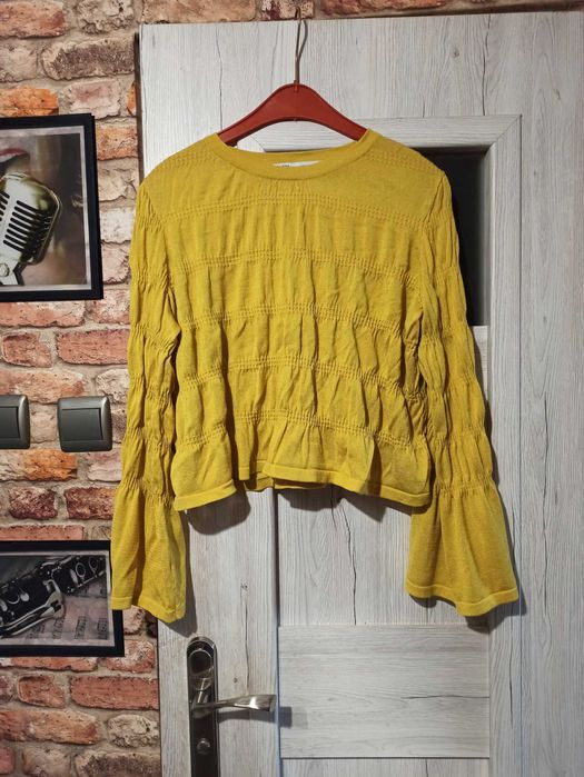 ZARA musztardowy sweterek rozm. 38 Skierniewice - image 1