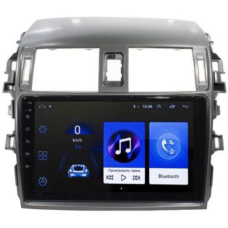 """Штатная автомобильная магнитола 9"""" Toyota Corolla 2006-2013, 2/16GB,"""