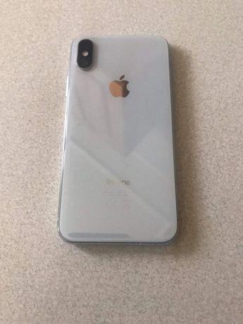 Iphone XS bialy/silver Stan idealny!