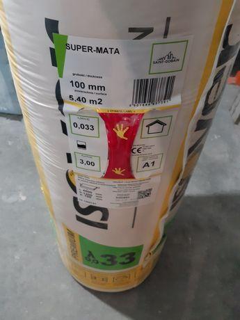 Wełna ISOVER Super-Mata 0.33 100mm
