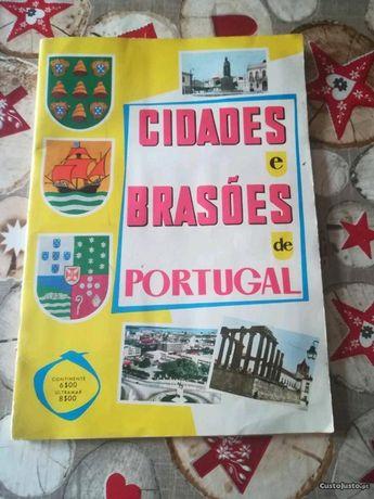 Caderneta -Cidades & Brasões Portugal