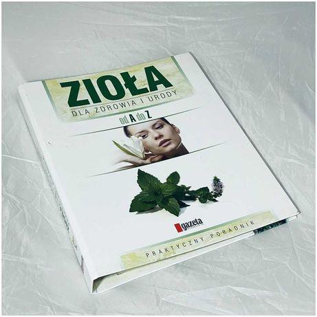 Segregator z broszurami Zioła dla zdrowia i urody od A do Z