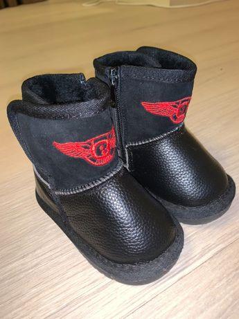 Зимние ботинки угги 19 размер
