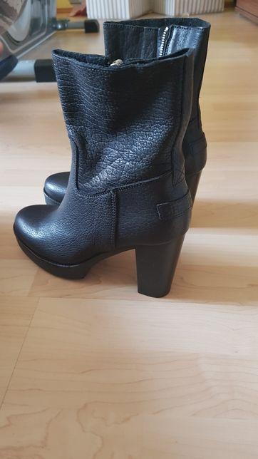 Buty botki Shabbies amsterdam nowe czarne 39