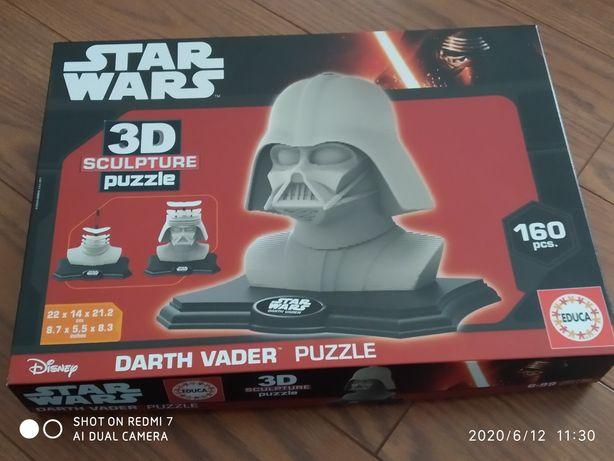Puzzle 3D STAR WARS novo sem uso nunca construído!!