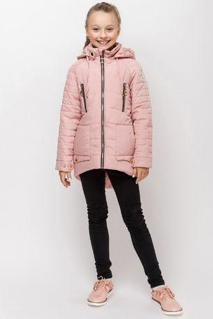 Оригинальная деми куртка для девочек 152р на 11-12 лет.