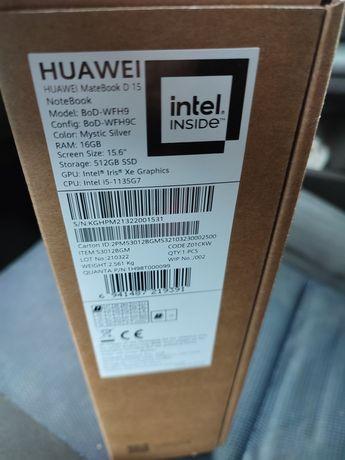Laptop Huawei MateBook D15 2021