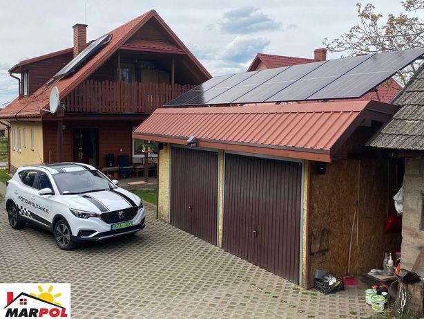 Fotowoltaika Augustów 5 kW Longi Solar 450W FoxESS T4