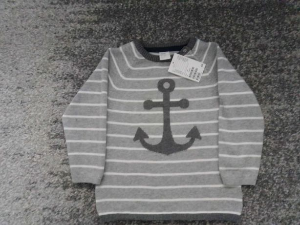 Sweterek H&M - nowy rozm. 92