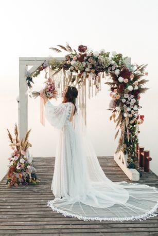 Свадебное платье RARA AVIS в стиле бохо.