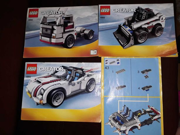 Lego CREATOR instrukcja +GRATIS