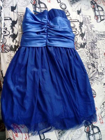 Niebieska sukienka roz 42
