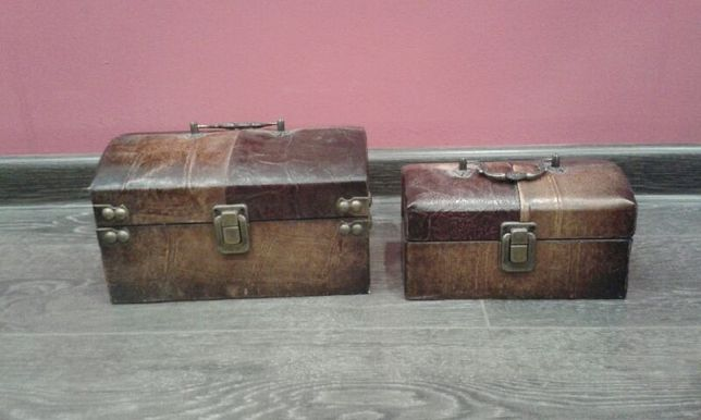 Komplet 2 kuferków