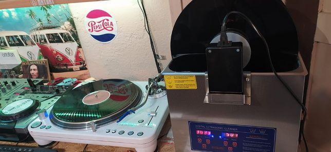 Myjka Ultradźwiękowa Mycie płyt Zadbaj o swoje płyty na gramofon