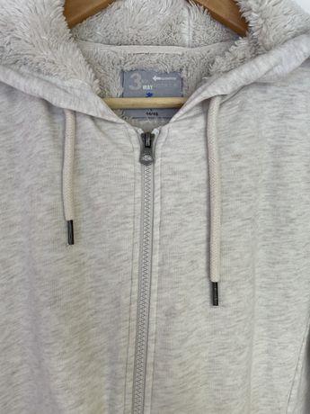 Худи,толстовка,куртка,кофта на молнии бежевая,белая,молоко