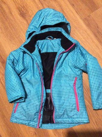 Горнолыжная курточка на девочку 110/116 рост