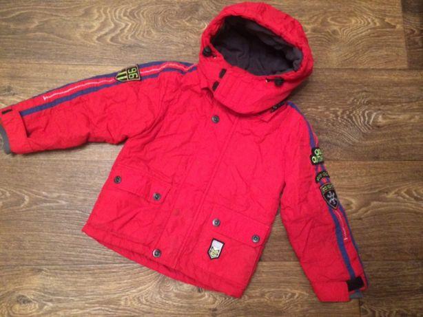 Демисезонная куртка на мальчика рост 92-104