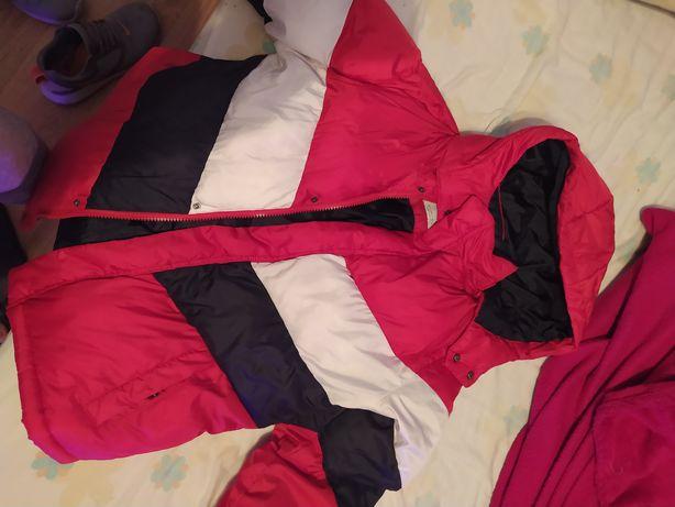 Jaqueta Polar Bershka vermelha tamanho S venda ou troca