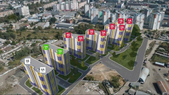ЖК Левада 2. СРОЧНО Продам 2-х комнатную квартиру - 53 кв.м. НОВОСТРОЙ