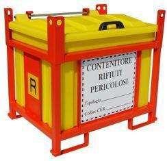Contentor Caixa p/ transporte e armazenamento de Resíduos perigosos