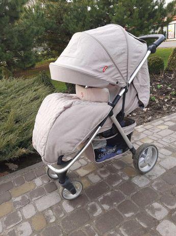 Прогулочная коляска Carrello Unico -Oxford Beige