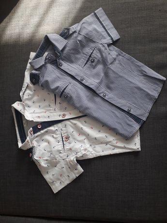 Zestaw koszul chłopięcych rozmiar 92