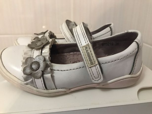 Симпатичные туфельки на девочку Фламинго, размер 26 (16,5 см стелька)