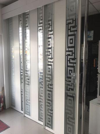 Підвісні двері Перегородка