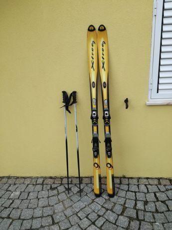Skis para neve solomon