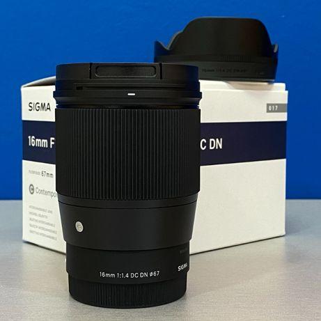 Sigma 16mm f/1.4 DC DN Contemporary (Sony E) - NOVA