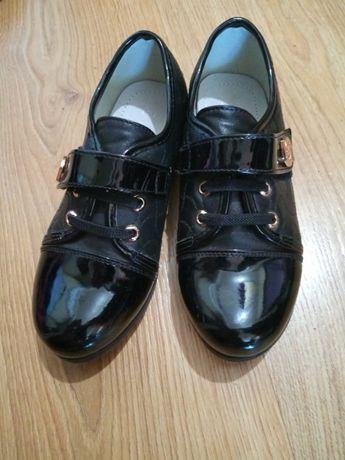 Черные туфли для девочки 31 размер