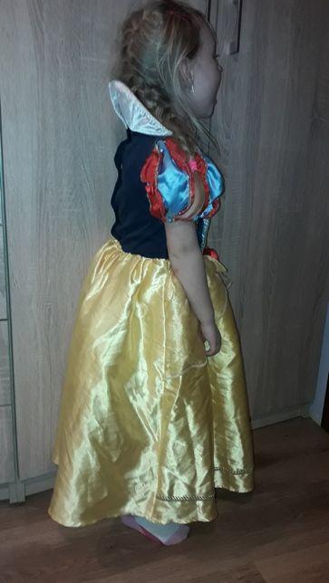Sukienka na bal karnawałowy,strój Śnieżki