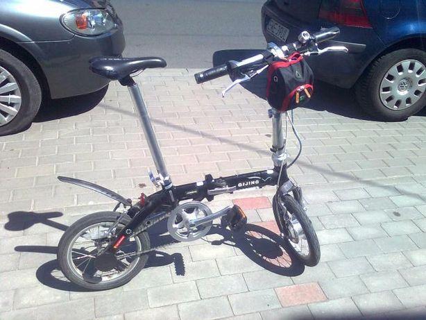 rower elektryczny składak aluminiowy ameryk.komponenty