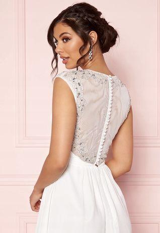 Nowa z metką suknia ślubna L celiny długa