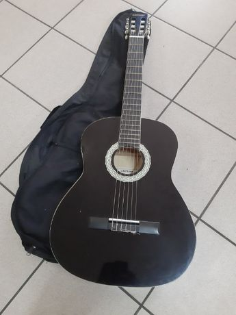 Gitara Klasyczna Clifton z pokrowcem czarna