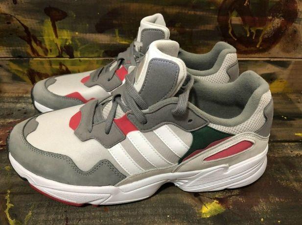 Adidas Новые Кожаные Кроссовки Оригинал Размер 45