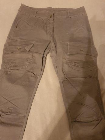 Spodnie bojówki szare