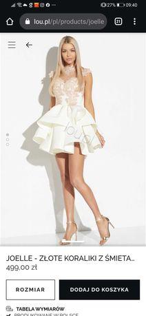 Sukienka rozkloszowana idealna na ślub cywilny dla Panny mlogej