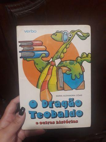 Livro O dragão Teobaldo e outras histórias