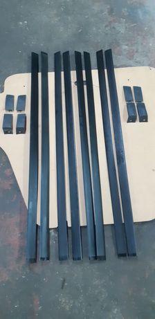 молдинги боковой кузова и крыши (желоб) ЗАЗ-1103 Славута и ЗАЗ-1102