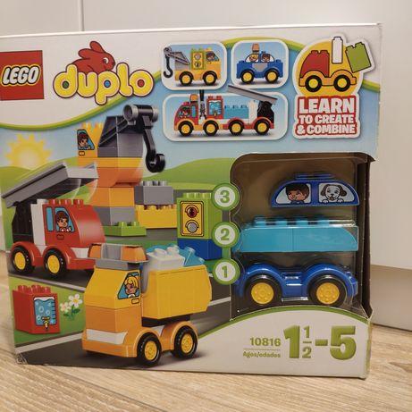 Klocki LEGO Duplo Moje pierwsze pojazdy
