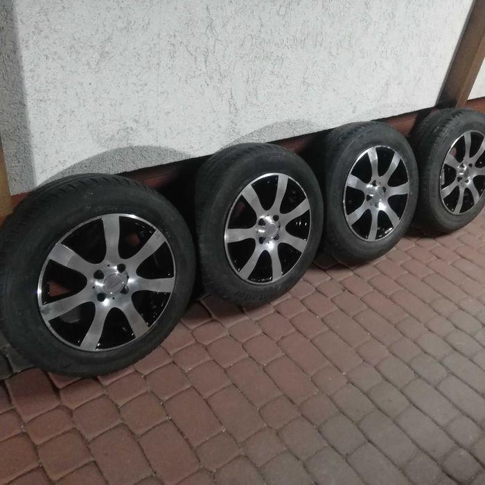 Alufelgi Tomason 15 4x100 z oponami vw Opel Toyota itr Toruń - image 1
