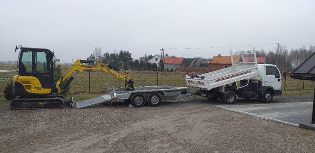 Usługi minikoparka i wywrotką do 5 ton Łuków