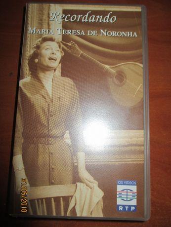 VHS - Recordando Maria Teresa de Noronha