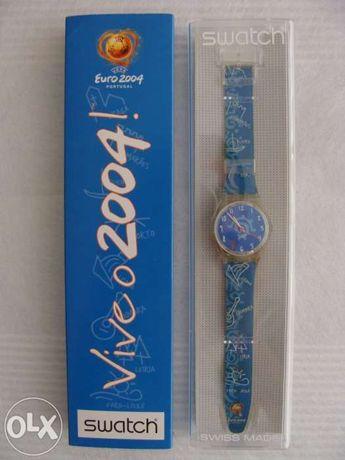 Relógio Swatch usado Euro 2004